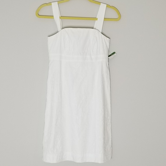 Lilly Pulitzer Dresses & Skirts - NWT Lilly Pulitzer White Embroidered Dress | 00